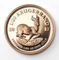 Krugerrand Proof 1/20 Oz Gold Coin 2017 - Reverse