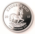 Platinum Proof 1 Oz Krugerrand 2017 - Reverse