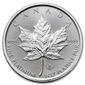 1oz Platinum Canadian Maple Leaf