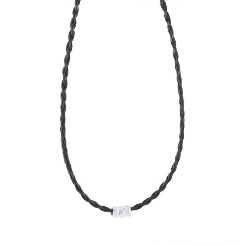 Trilogy - Horsehair Necklace
