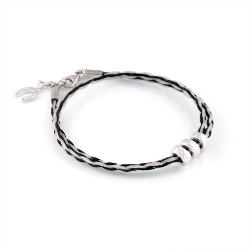 Spirit  - Double round Horsehair Bracelet