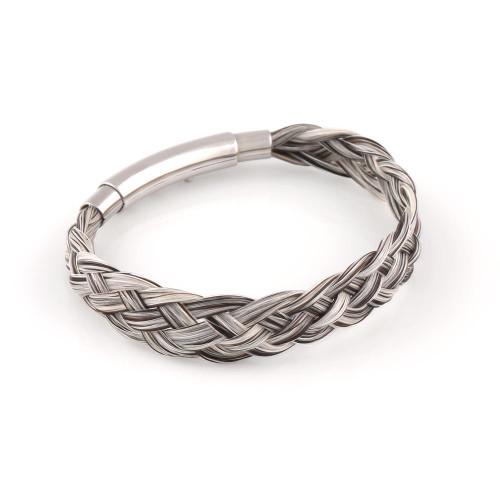 Twill - Flat Weave Horsehair Bracelet