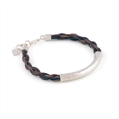 Shadow - Single Round Horsehair Bracelet