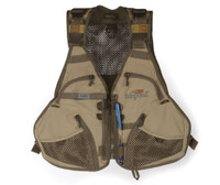 Fishpond Fly Fishing, Flint Hills Fishing Vest, Clay (FISHPOND-FHV-C)