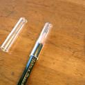 Clear Pencil Caps 10 pcs