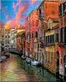 FIERY CANAL by Artist McKenzie