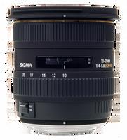 Sigma 10-20mm f/4-5.6 EX DC Autofocus Zoom Lens for Maxxum & Sony Alpha DSLR Cameras - USA Warranty