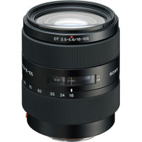 Sony 16-105mm f/3.5-5.6 DT a (Alpha) Mount Digital SLR Wide-Range Zoom Lens with Hood
