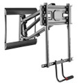 "Above Fireplace Pull-Down Full-Motion TV Wall Mantel Mount 77lbs for 43"" to 70"""