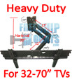 "HEAVY DUTY FULL MOTION MOUNT FOR TV SCREEN SIZES 32-70"" (Model IMPLB1)"