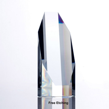Crystal Octagon Tower Award