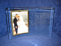 Personalized Curved Picture Frame