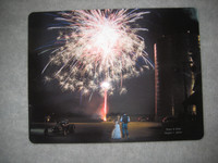 Wedding Photo on Aluminum