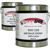 Metallic epoxy 100% solids epoxy.  Clear epoxy used for metallic finishes.  Works great as a top coat for tabletops and countertops.