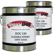 Epoxydoc flexible epoxy is designed for bridging cracks and sealing traffic surfaces exposed to vehicular or foot traffic.  The elongation eliminates the need to repair hairline cracks.