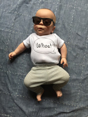 Whoa! Word Balloon Onesie