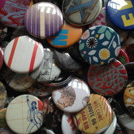 Mystery Pinback Button