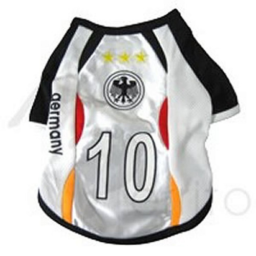 Germany Soccer Pet Jersey