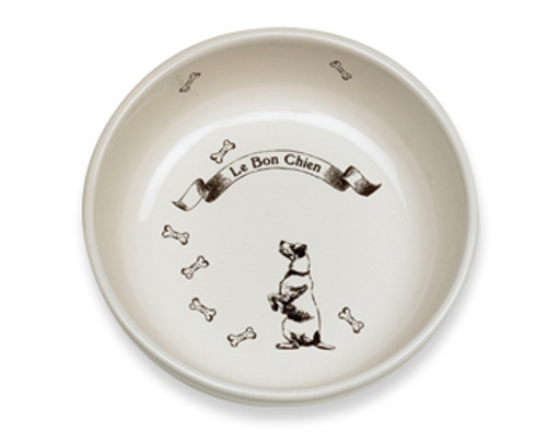 Le Bon Chien Dog Bowl