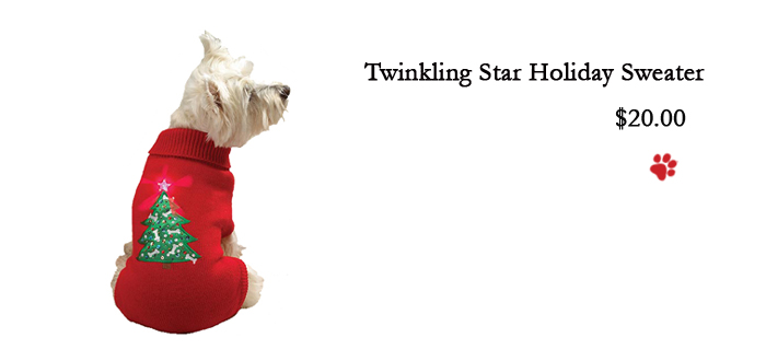 Twinkling Star Holiday Sweater