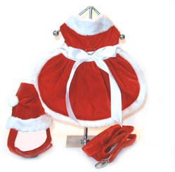 Velvet Girl Santa Dress Harness