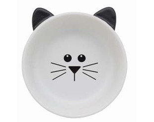 Cat Face Ceramic Bowl