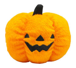 Small Plush Pumpkin Toy