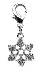 Snowflake Jewel Collar Charm