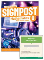 Australian Signpost Mathematics New South Wales 8 Student Book/eBook 3.0 Combo Pack