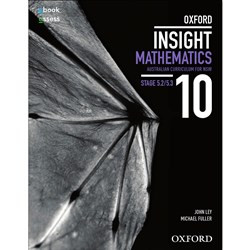 Oxford Insight Mathematics 10 NSW Australian Curriculum: Stages 5.2-5.3