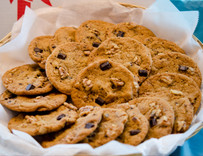 Dark Chocolate Walnut Cookie