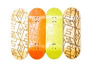 FlatFace G15 Deck - Engraved Cubes - 32mm