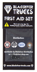+blackriver+ First Aid Black Screws
