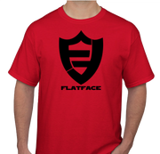 FlatFace Red Logo Shirt - Large