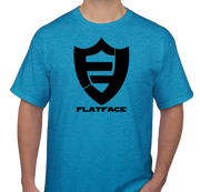 FlatFace Blue Logo Shirt - Medium
