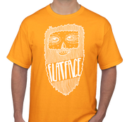 FlatFace Sam Shirt - Orange - Large