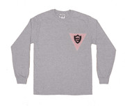 FlatFace x Drawback Collab Longsleeve Shirt - Grey X-Large