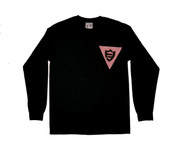 FlatFace x Drawback Collab Longsleeve Shirt - Black Medium