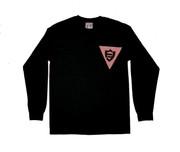 FlatFace x Drawback Collab Longsleeve Shirt - Black Medium