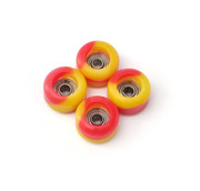FlatFace Limited Edition - Ketchup n Mustard Swirls - BRR Edition Wheels