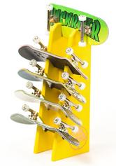 +blackriver-ramps+ Fingerboard Rack - Yellow