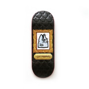 Catfishbbq Deck - Saltwater - Black Cryin Johnny - Embossed