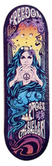 Bollie Deck - Freedom Love and Peace - New Shape