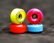 Oak Wheels Rainbow Spiral