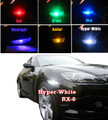 Mazda RX-8 LED Side marker bumper lighst light LEDS