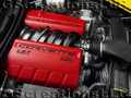 C6 Z06 Corvette Stock Red Fuel Rail Covers