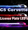 C5 Corvette LED License Plate Lights