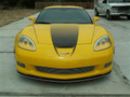 C6 Z06 Large Hood Fade Graphic