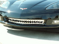 C6 Corvette Shark Tooth Style Polished Stainless Steel Grille