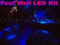C5 Corvette Foot Well LED Lights
